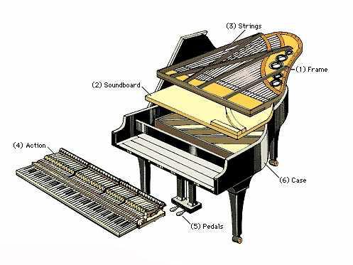 di chuyển đàn piano