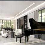 Tư vấn mua đàn piano theo kiến trúc nhà ở