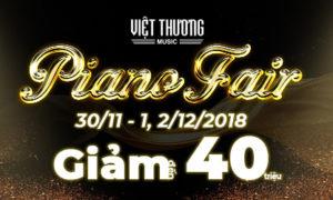 Ưu đãi hấp dẫn chào đón sự kiện Piano Fair 2018
