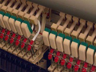Vật liệu ABS trong quá trình sản xuất piano Kawai