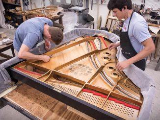 Tìm hiểu về kỹ thuật đúc khung gang piano